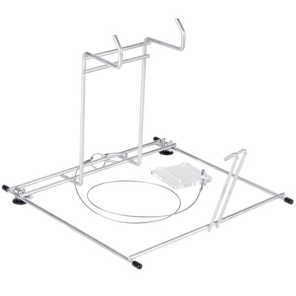 Rotisserie Bag Wire Rack with Easy Close Tool