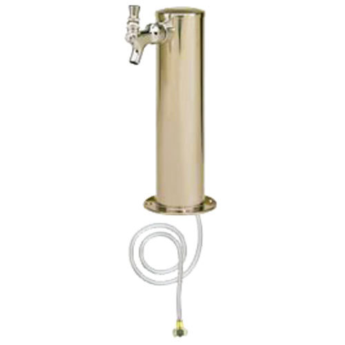 "Micro Matic D4743T Stainless Steel 1 Tap Tower - 3"" Column Main Image 1"