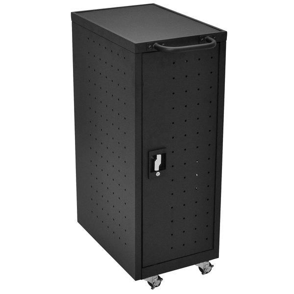 Luxor LLTP12-B 12 Tablet / Laptop Charging Station and Storage Cart