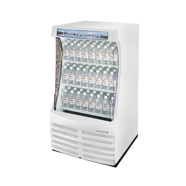 "Beverage-Air BZ13-1-W 30"" White Breeze Open Refrigerated Display Case"