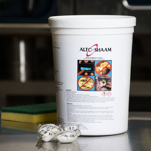Alto-Shaam CE-28892 14 Gram Cleaning Tabs for Combitherm Ovens - 90/Case