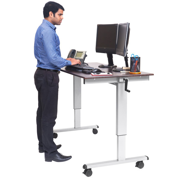 Luxor STANDUP-CF60-DW Stand Up Desk - 60""