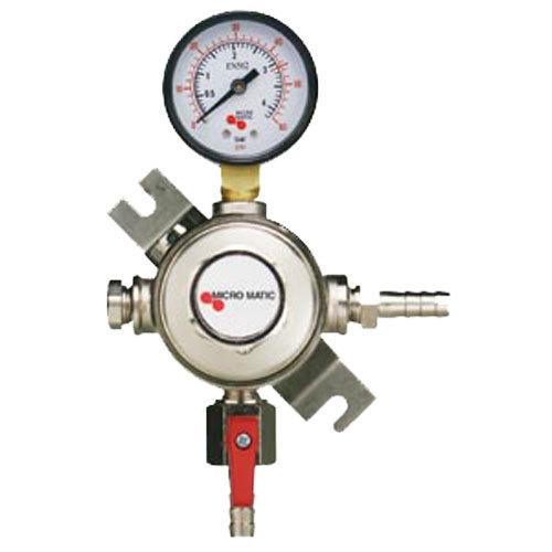 Micro Matic 1161 Single Gauge Premium Series Secondary CO2 Low-Pressure Regulator