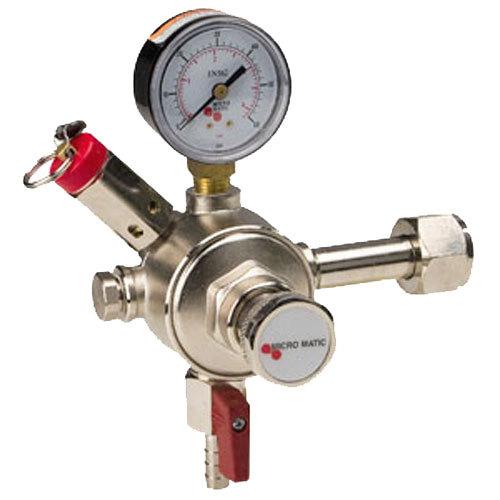 Micro Matic 641 Premium Plus Single Gauge Primary CO2 Low-Pressure Regulator Main Image 1