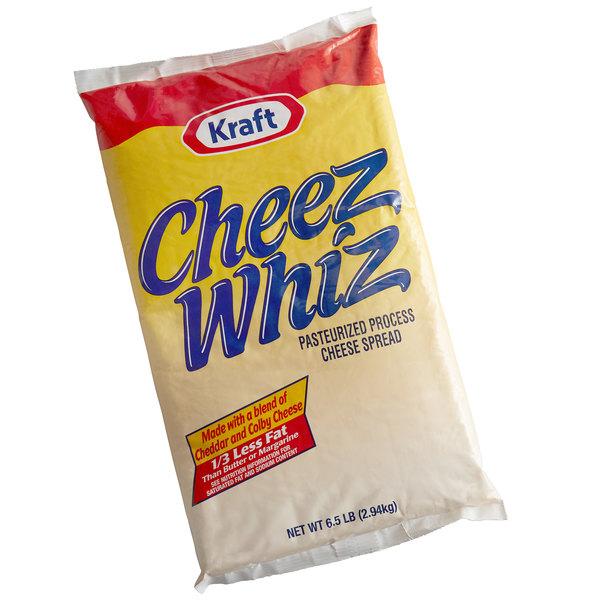 Kraft CHEEZ WHIZ 6 5 lb  Cheese Spread - 6/Case