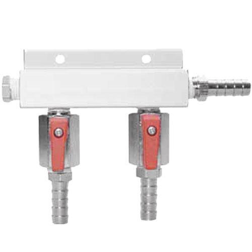 Micro Matic 751-017 Aluminum 2-Way Beer Gas Distributor Main Image 1