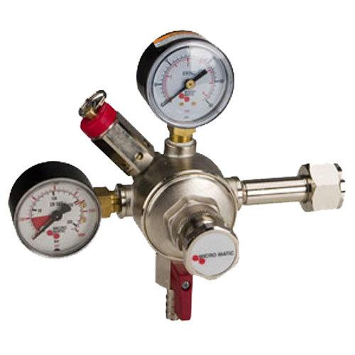 Micro Matic 642HP Premium Series Double Gauge Primary CO2 High-Pressure Regulator