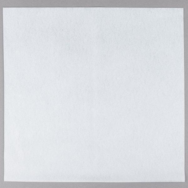 Choice 15 X 16 White Linen Feel Flat Packed Dinner Napkin 500 Case