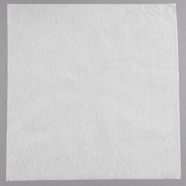 Touchstone By Choice 14 X 14 White Linen Feel Flat Packed Dinner Napkin 1000 Case