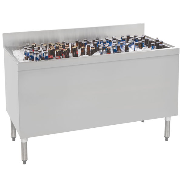 "Advance Tabco PRBB-60 Prestige Series Stainless Steel Beer Box - 60"" x 25"" Main Image 1"