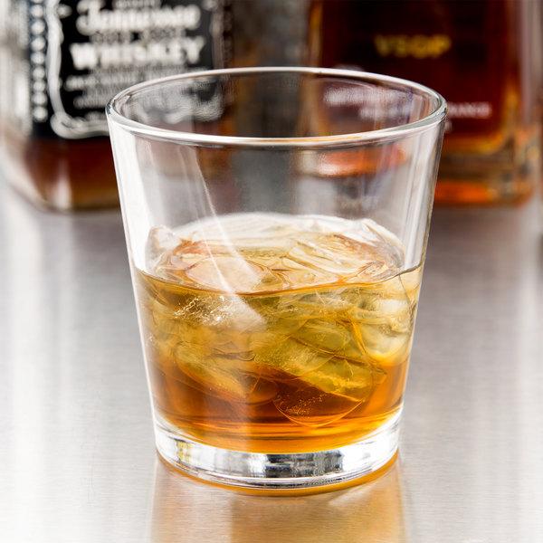 Libbey 15766 Restaurant Basics 9 oz. Stackable Rocks / Old Fashioned Glass - 24/Case