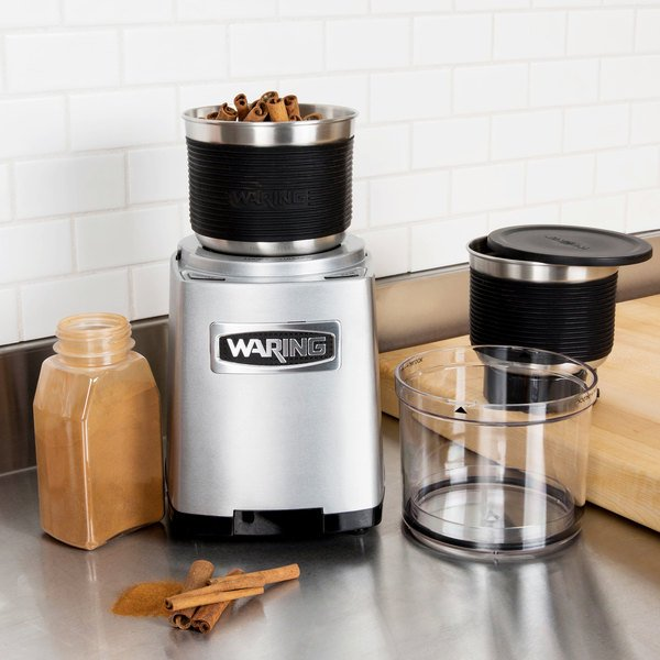 Waring WSG60 3 Cup Commercial Spice Grinder - 120V