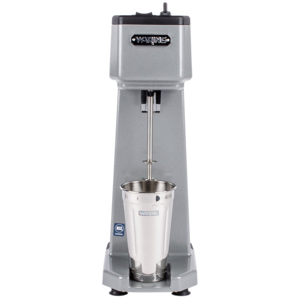 Waring WDM120T Single Spindle Three Speed Drink Mixer with Timer - 120V