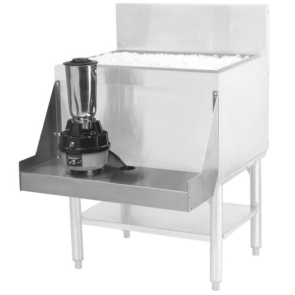 "Advance Tabco PRA-BS-12 Prestige Series 12"" Stainless Steel Blender Shelf Main Image 1"