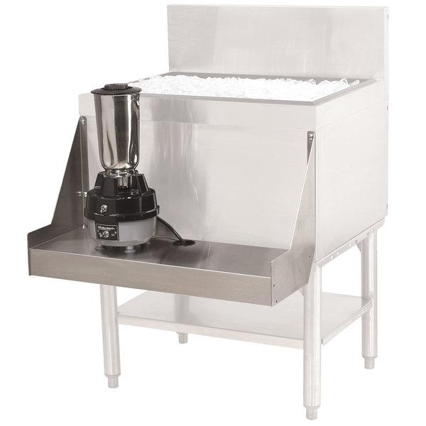 "Advance Tabco PRA-BS-30 Prestige Series 30"" Stainless Steel Blender Shelf"