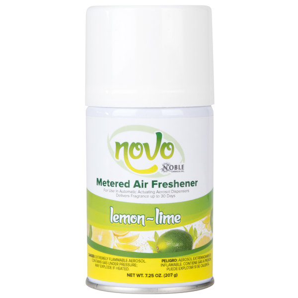 Noble Chemical Novo 7.25 oz. Lemon-Lime Metered Air Freshener Refill