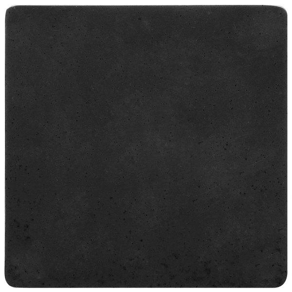 GET ML-228-BK Black Melamine Solid False Bottom for ML-150 Square Crocks - 12/Case