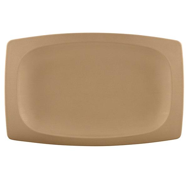 "Elite Global Solutions ECO1258 Greenovations Paper Bag-Colored 12 1/2"" x 8 3/16"" Rectangular Platter - 6/Case"