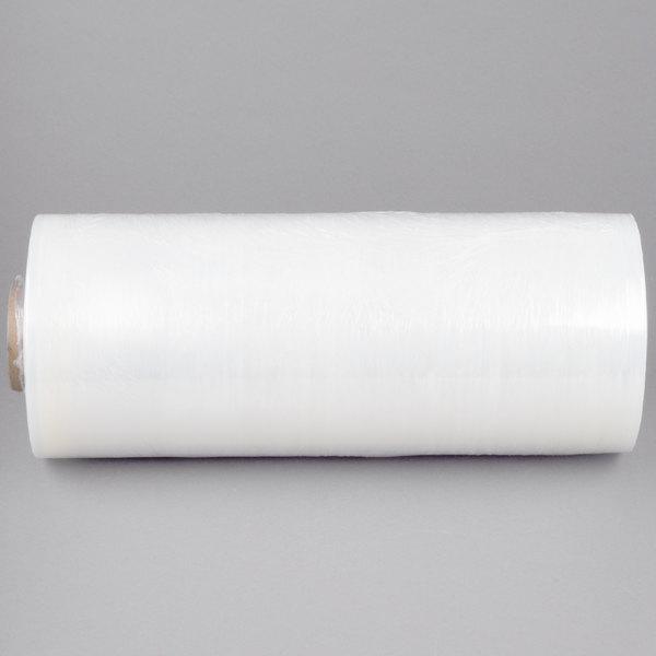 """Lavex Industrial 20"""" x 5000' 63 Gauge Cast Machine Pallet Wrap Film / Stretch Film"""