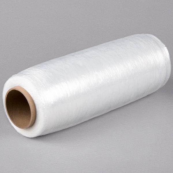 "Lavex Industrial 15"" x 1476' 30 Gauge Eco-Friendly Pre-Stretched Pallet Wrap / Stretch Film - 4/Case"