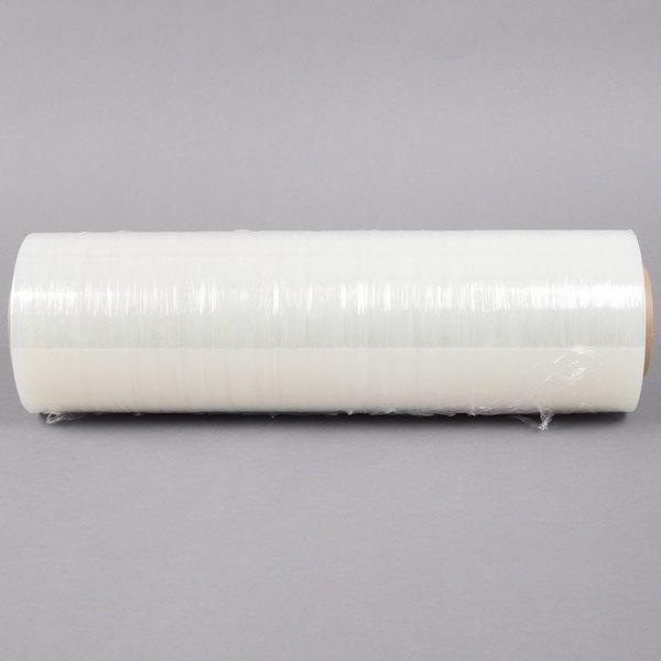 Lavex Industrial 18 inch x 1500' 80 Gauge Heavy-Duty Eco-Friendly Pallet Wrap / Stretch Film - 4/Case