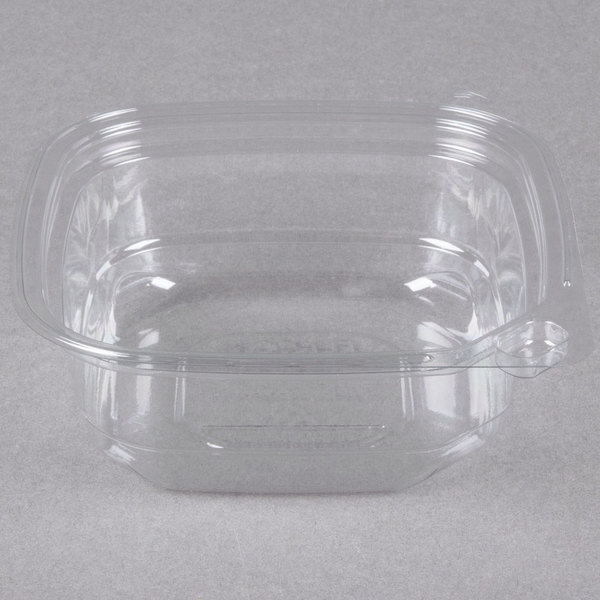 8 oz. Square Recycled PET Deli Container  - 400/Case
