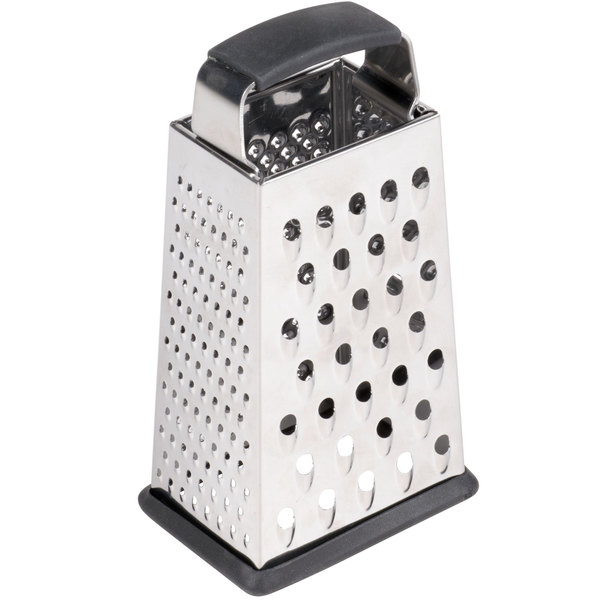 6 6 TableCraft Products SG203BH Stainless Steel 4 Sided Box Grater
