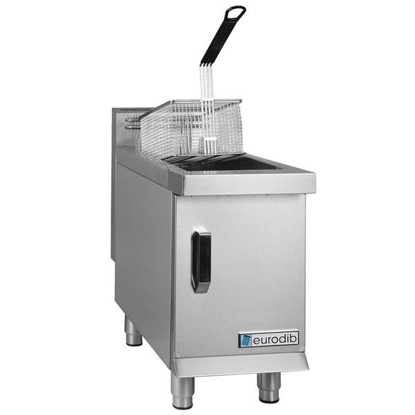 Eurodib CF15 15 lb. Natural Gas Countertop Fryer - 26,500 BTU Main Image 1