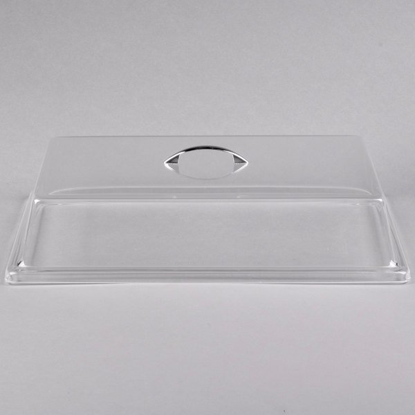 Cal-Mil 327-18 Clear Standard Rectangular Bakery Tray Cover - 18 inch x 26 inch x 4 inch