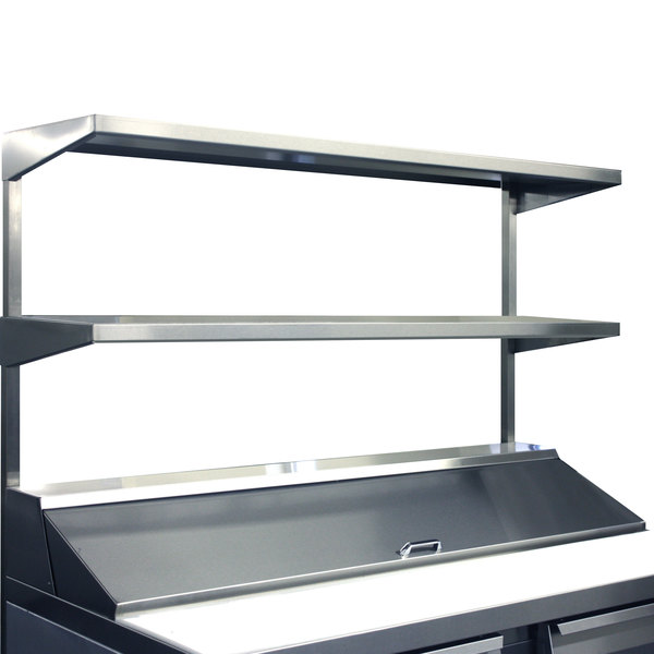 "Continental Refrigerator DOS48 48"" x 16"" Double Overshelf"