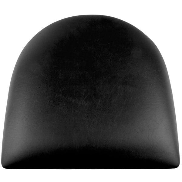 "Lancaster Table & Seating Spartan Series Chair / Barstool 2 1/2"" Black Vinyl Padded Seat Main Image 1"