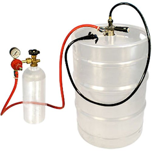 "Micro Matic EZ-TAP-H-LC Keg Party Dispensing System with Plastic Squeeze-Trigger Faucet - ""D"" System"
