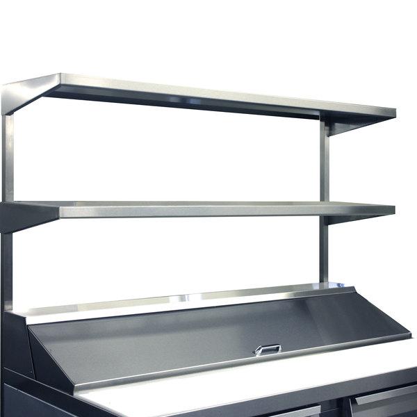 "Continental Refrigerator DOS72 72"" x 16"" Double Overshelf"
