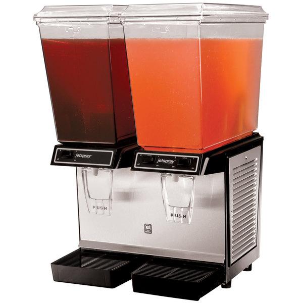 Cornelius Jet Spray JT20D Premium Double 5 Gallon Bowl Refrigerated Beverage Dispenser