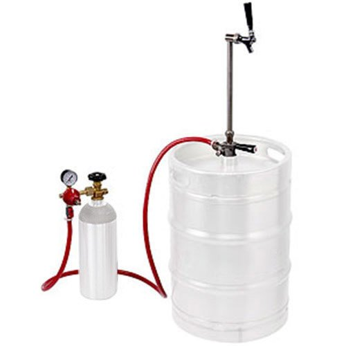 """Micro Matic EZ-TAP-LC Keg Party Dispensing System with Chrome-Plated Faucet - """"D"""" System"""