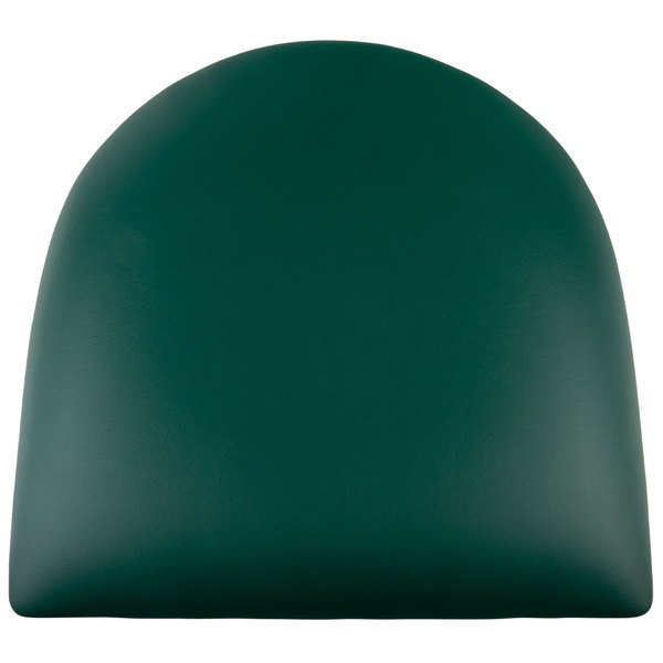"""Lancaster Table & Seating Spartan Series Chair / Barstool 2 1/2"""" Green Vinyl Padded Seat Main Image 1"""