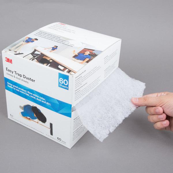 "3M 59152W Easy Trap 6"" x 8"" x 30' Duster Sheet Roll"