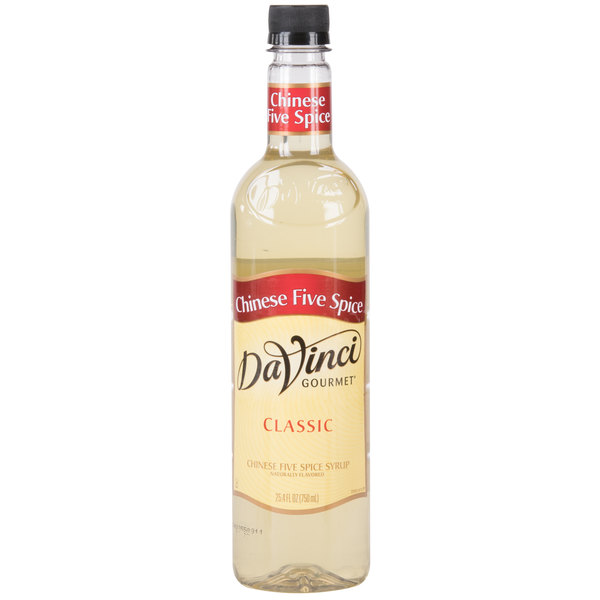 DaVinci Gourmet 750 mL Chinese Five Spice Flavoring Syrup