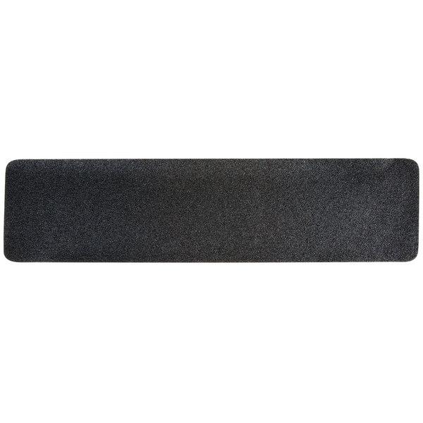 "3M 610 6"" X 24"" Safety-Walk General Purpose Black Slip-Resistant Tape - 50/Case"