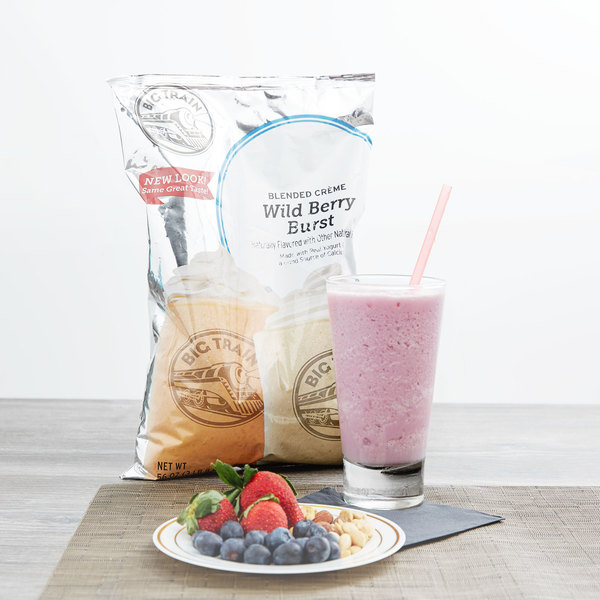 how to make a berry frappe