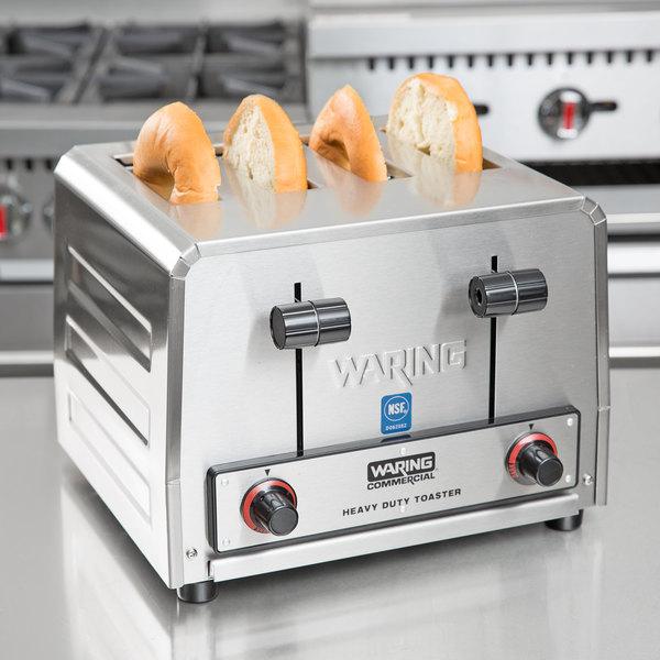 Waring WCT805 Heavy Duty 4 Slice Toaster 240V Main Image 4