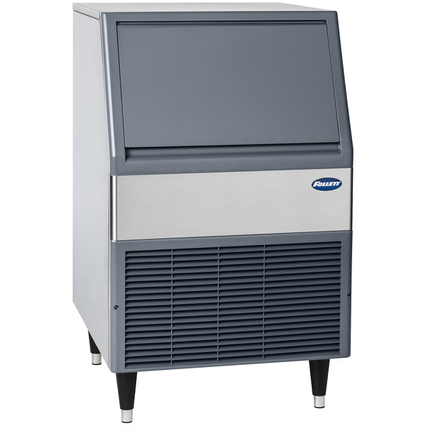 "Follett UFD425A80 Maestro Plus Series 23 1/2"" Air Cooled Undercounter Flake Ice Machine - 425 lb. Main Image 1"