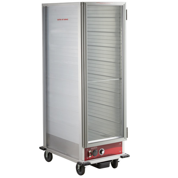 Avantco HEAT-1836 Full Size Non-Insulated Heated Holding Cabinet with Clear Door - 120V Main Image 1