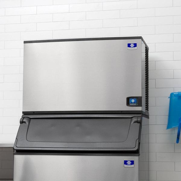 "Manitowoc IYT1500A Indigo NXT Series 48"" Air Cooled Half Size Cube Ice Machine - 208-230V, 3 Phase, 1800 lb."