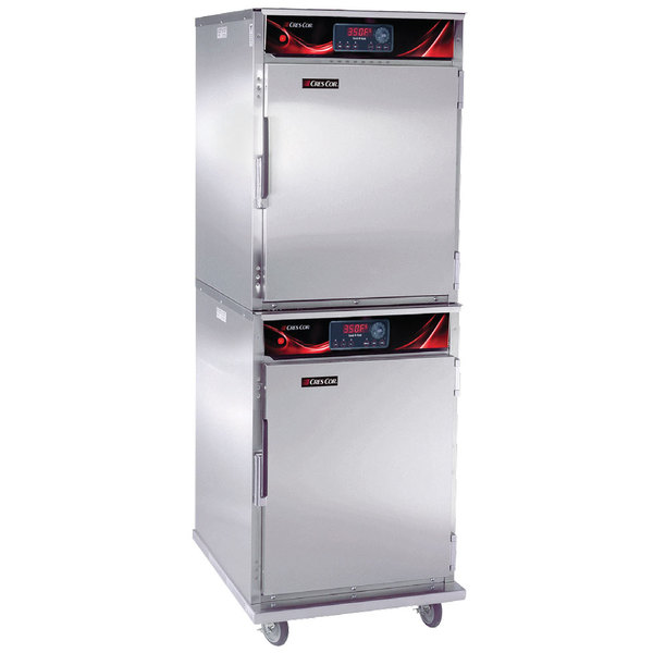 Cres Cor CO-151-H189-DE-STK Half Height Stacked Cook and Hold Oven - 240V, 1 Phase