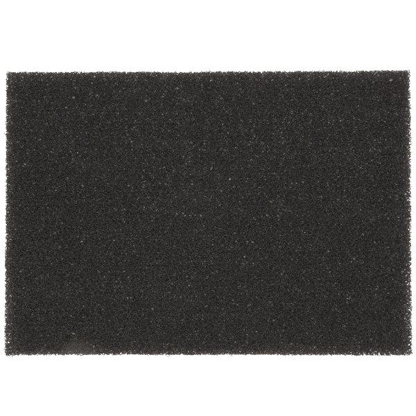"3M 7300 14"" x 20"" Black High Productivity Stripping Pad - 10/Case"