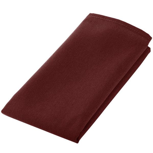 Intedge Burgundy 100 Polyester Cloth Napkins 18 X 18 12 Pack