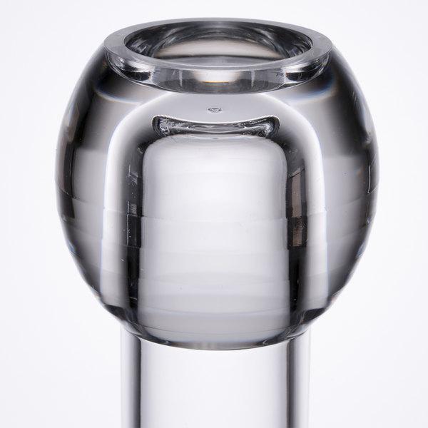 Carlisle 465007 4 Clear Acrylic Bud Vase