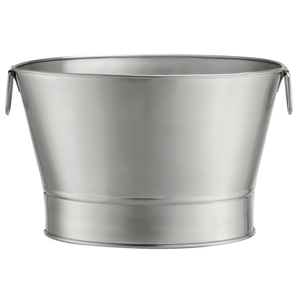 p galvanized park drink beverage tub metal hyde