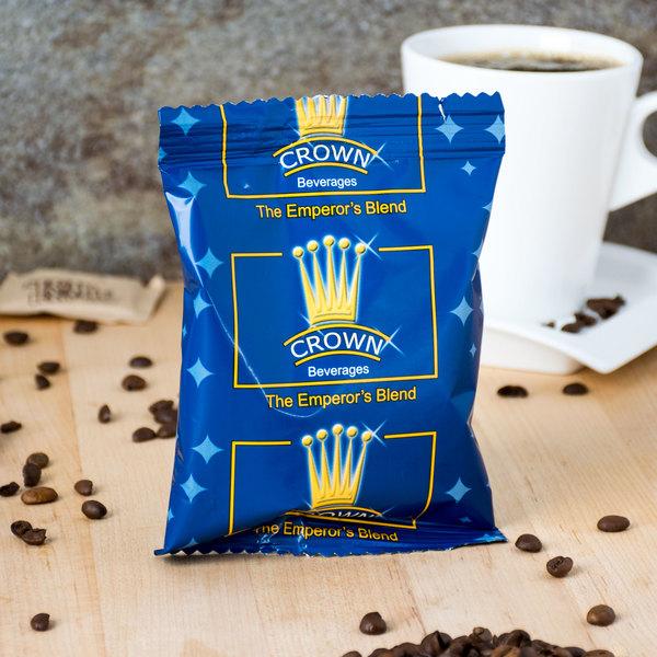 Crown Beverages Emperor's Blend Coffee 2 oz. Packet - 80/Case